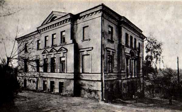 Злосчастный дом масонов - таким его мог увидеть Бегун