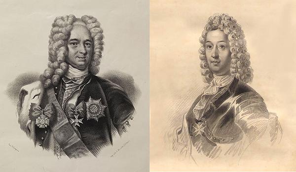 Князь Меншиков и фельдмаршал Шереметьев