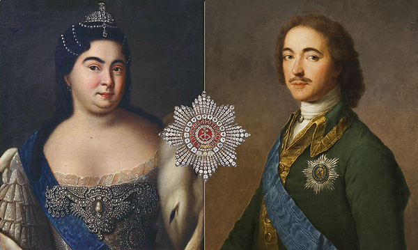 Орден святой Екатерины был учрежден Петром I в честь супруги