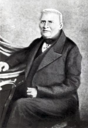 Единственный дошедший до нас портрет доктора Гинденбурга *