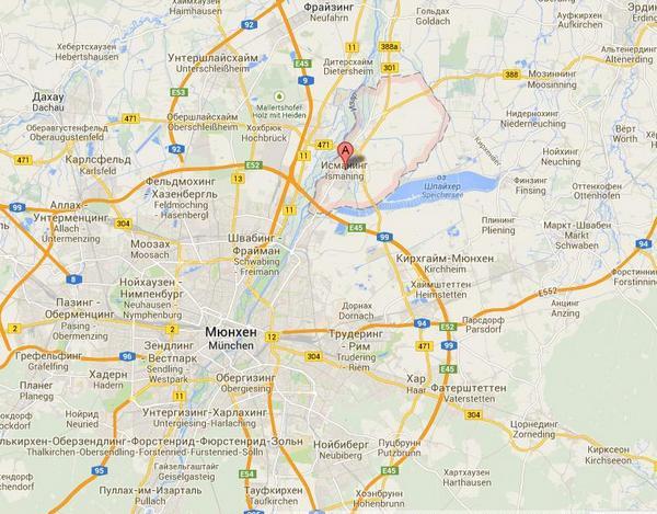 Изманинг - пригород Мюнхена, где теперь живет Екатерина