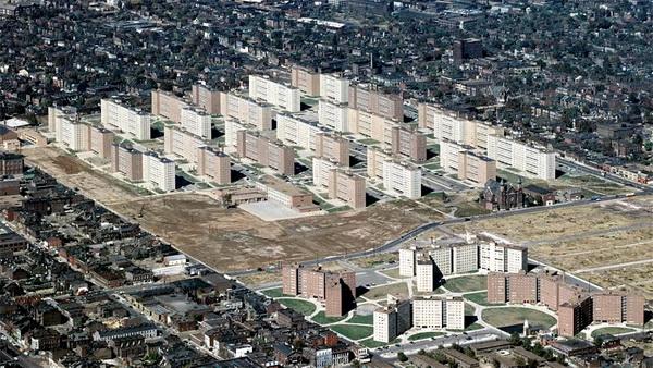 Жилой комплекс Пруитт-Айгоу в Сент-Луисе (США, штат Миссури)
