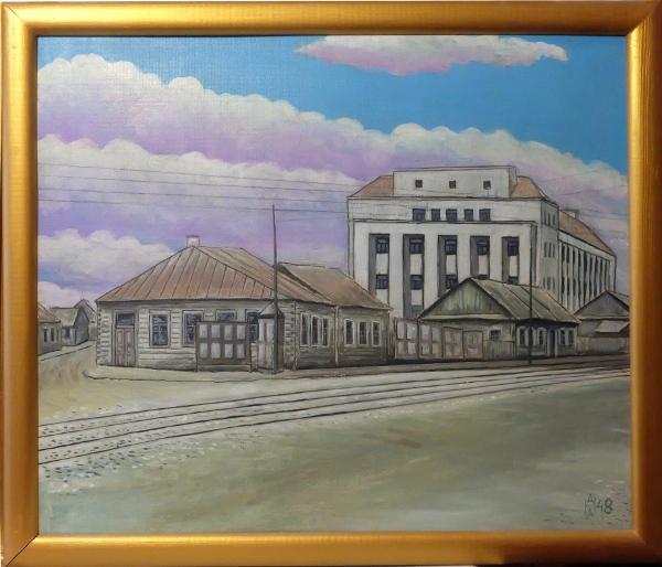 Институт физкультуры - главное здание Комаровки