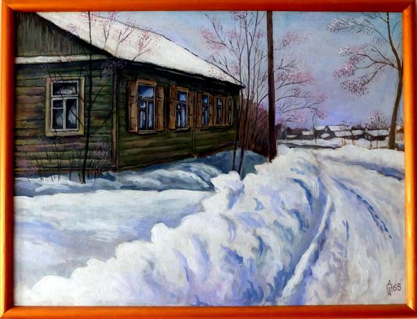 От дома на улице Совхозной хорошо была видна Веселовка
