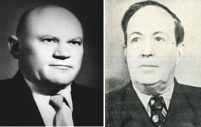 Израиль Григорьевич Герман и Аркадий Львович Бессмертный