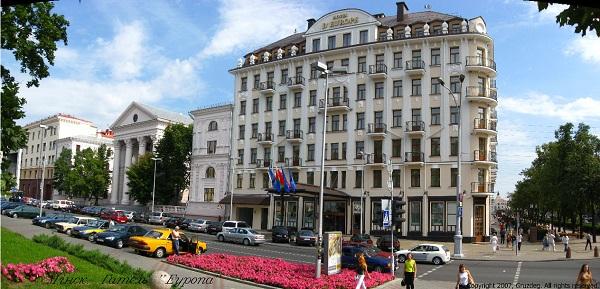 """Не совсем """"Европа"""", не совсем на своем месте, но - гостиница"""