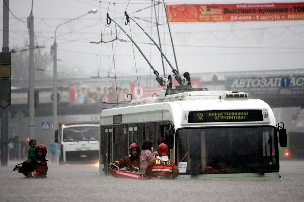 Избавились от наводнений? Паводок весной 2009 года. Фото С. Грица