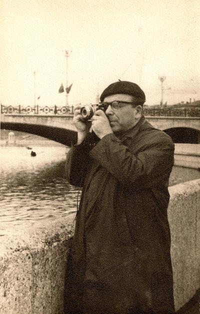 Лагин вМинске, начало 1970-х