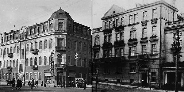 Дома Советов в Минске - Первый и Второй - сохранились до наших дней.