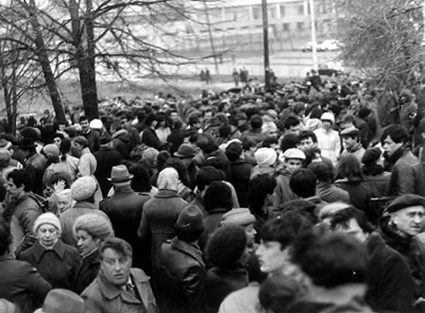 Первый митинг на Яме прошел в 1971 году. С тех пор - ежегодно.