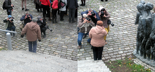 О чем думают бывшие узники гетто, глядя в объективы фотоаппаратов?