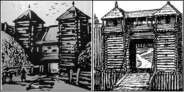 Древние ворота Минска – по Э.Загорульскому и по Я.Дроздовичу