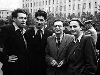 Борис Бурьян, Олег Сурский, Наум Кислик и Валентин Тарас