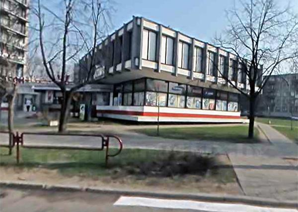 Клуб при общежитии з-да им. Орджоникидзе, где в 1970-х мы занимались йогой.