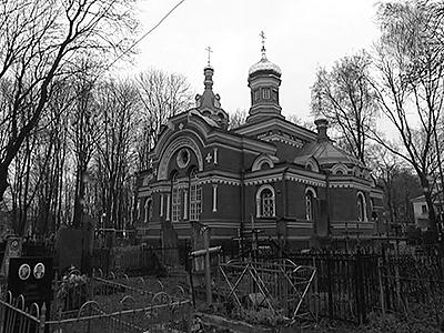 Десятки памятников на Военном кладбище были созданы Абрамом Спришеном