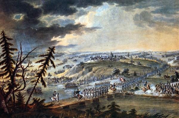 Переход французской армии через Неман 24 июя 1812 года