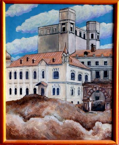 Будущая Центральная площадь. 1948 год.