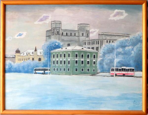 Уже без Сталина, еще без Дворца Республики. 1969 год