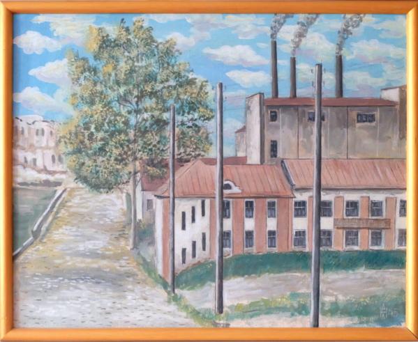 Первая минская электростанция. 1945 год.