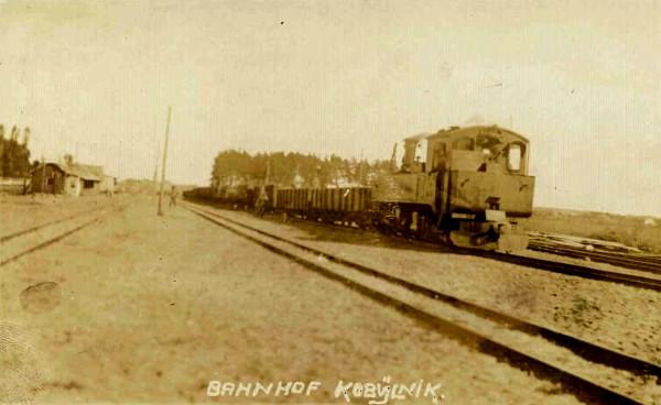 Станция Кобыльник. 1916 год