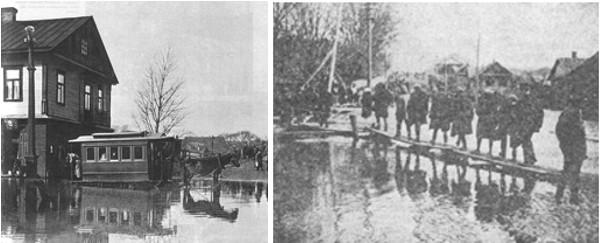 Наводнения в Минске