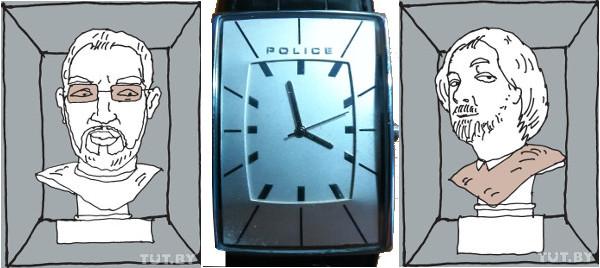 Сергей Стельмашонок, я и часы...