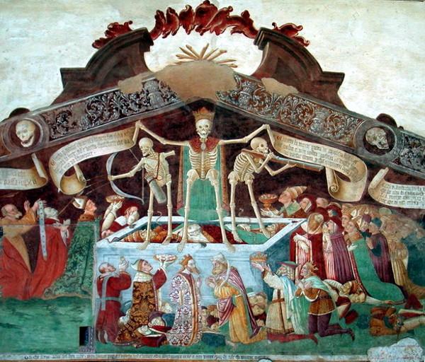"""""""Триумф смерти"""" - один из популярнейших сюжетов искусства Средних веков"""