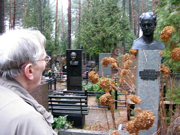Могила Г.С. Березкина на Московском кладбище